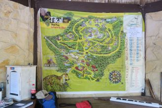 Tikal is big, you don't want to get lost here