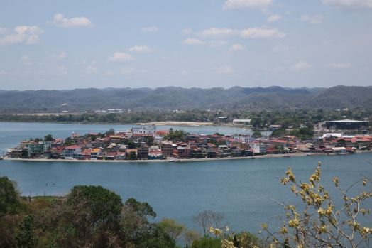 The view of Flores from an observation tower